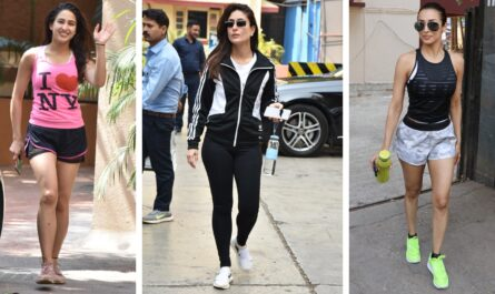 bollywood actress in gym wear