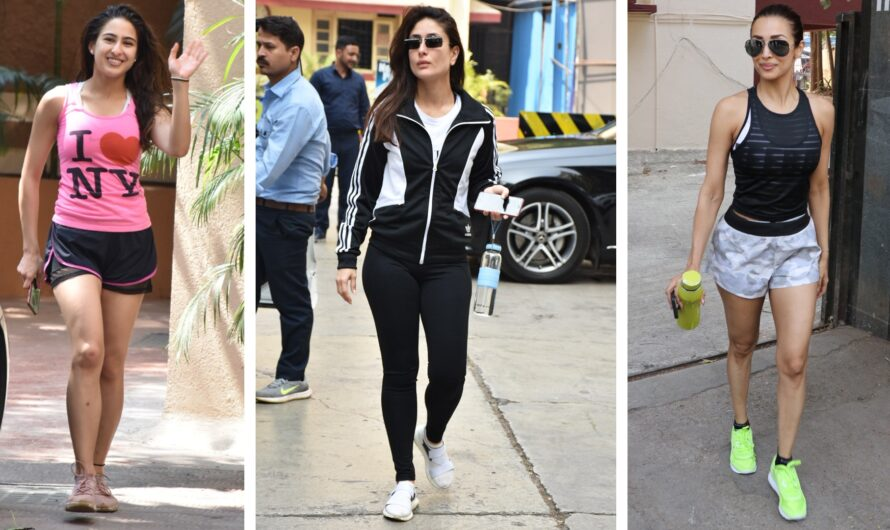 7 Good Looking Bollywood Divas In Gym Pants